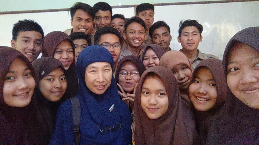 インドネシアの高校生