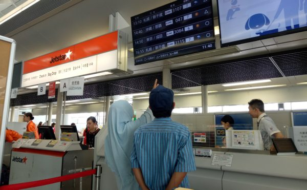 日本へ観光にやって来るインドネシア人ムスリムが増えてきました。